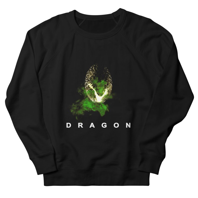 D R A G O N Women's Sweatshirt by Evan Ayres