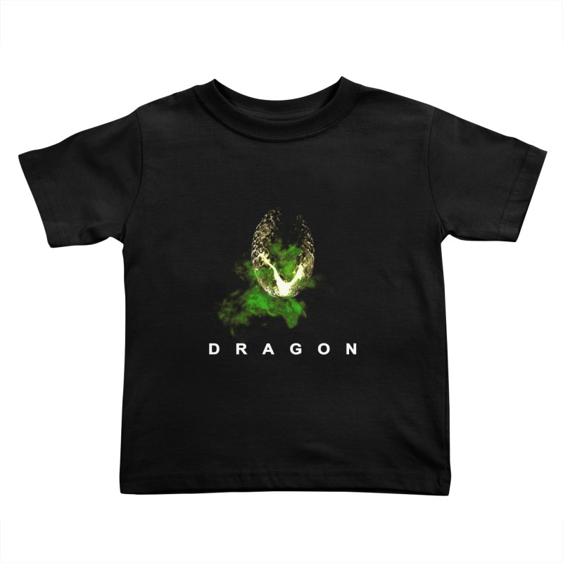 D R A G O N Kids Toddler T-Shirt by Evan Ayres