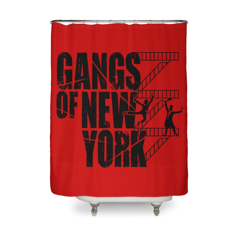 When You're a Dead Rabbit, You're a Dead Rabbit Home Shower Curtain by Evan Ayres