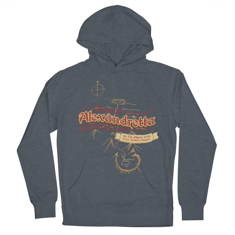 On The Pilgrim Trail From Eastern Empire Women's Pullover Hoody by Evan Ayres