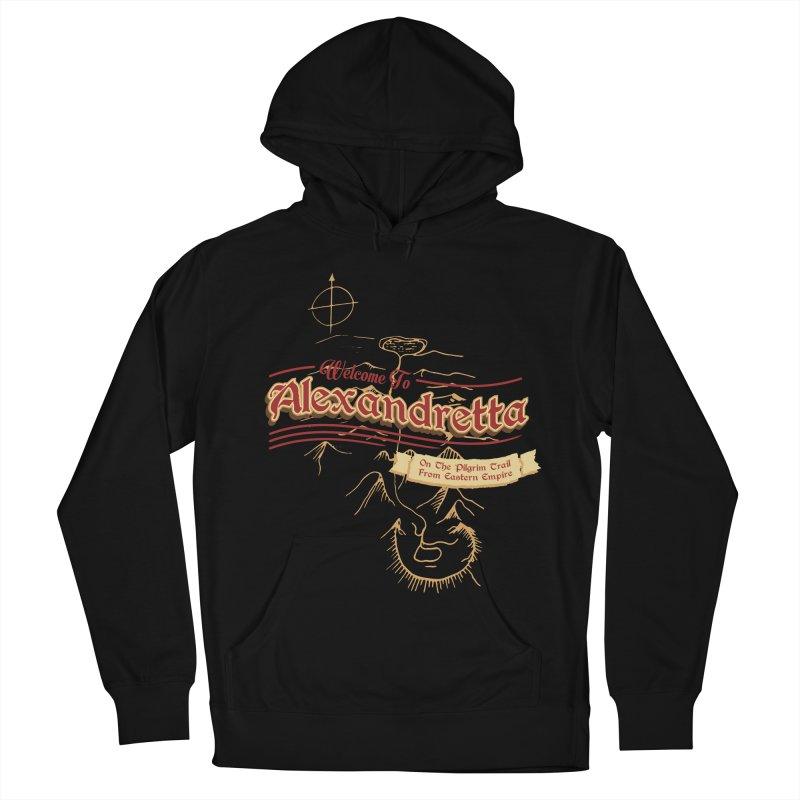 On The Pilgrim Trail From Eastern Empire Men's Pullover Hoody by Evan Ayres