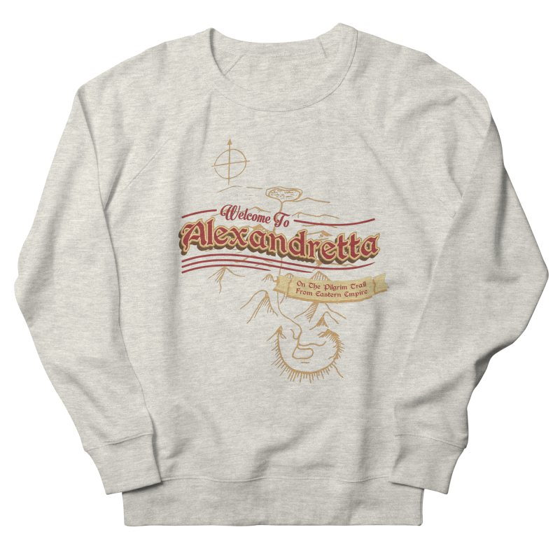 On The Pilgrim Trail From Eastern Empire Men's Sweatshirt by Evan Ayres