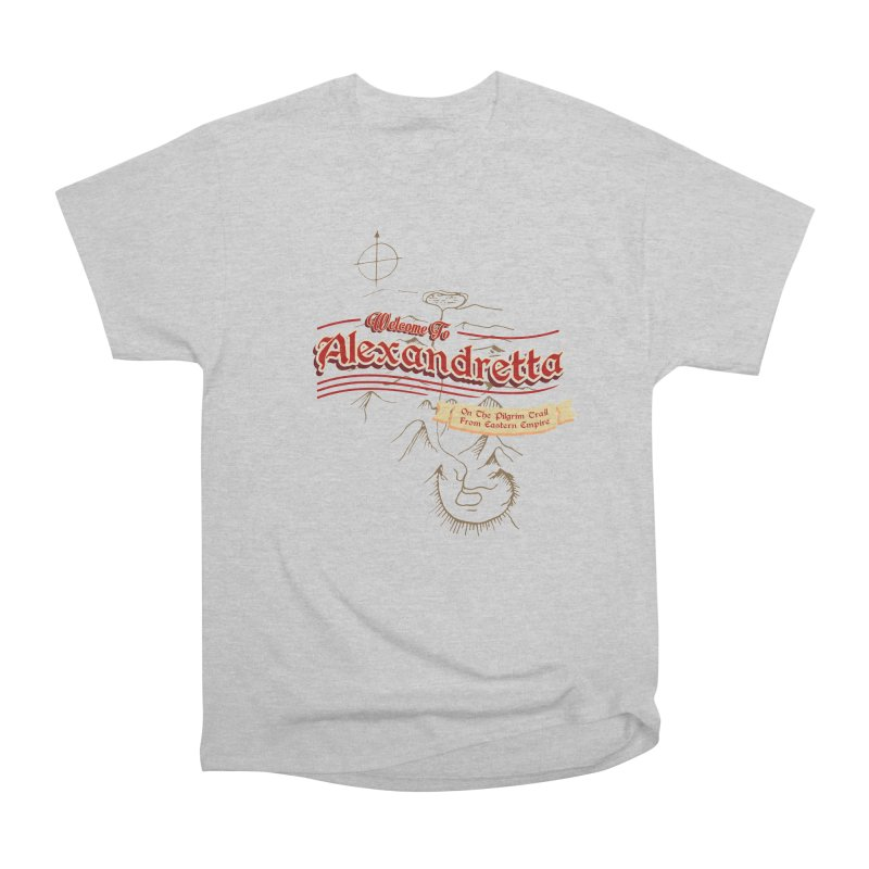 On The Pilgrim Trail From Eastern Empire Women's Classic Unisex T-Shirt by Evan Ayres