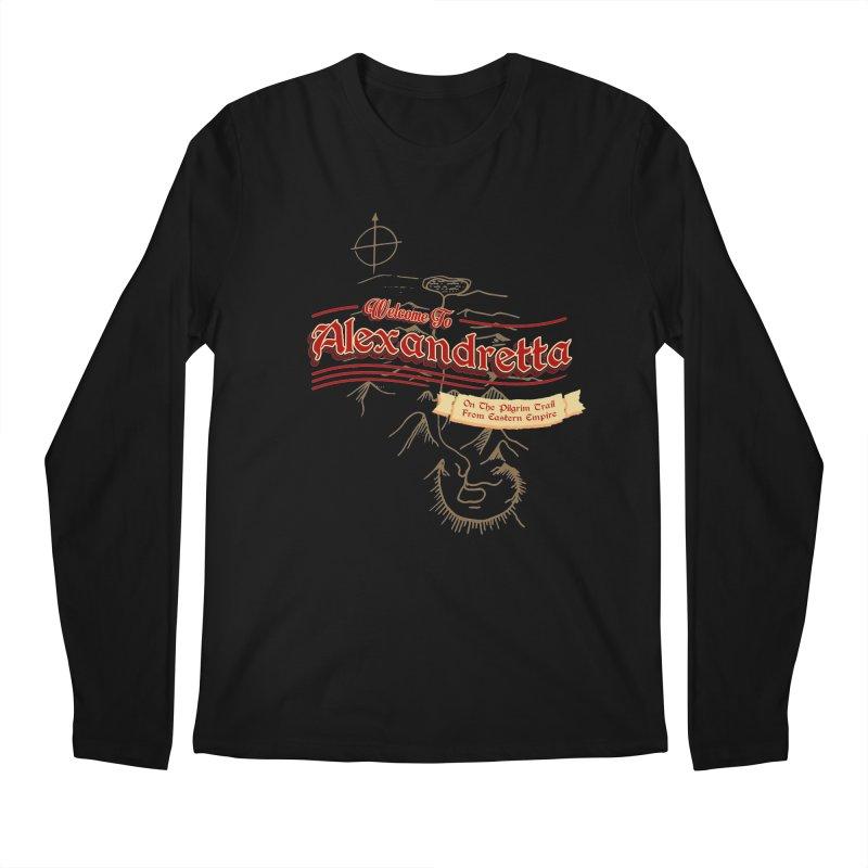 On The Pilgrim Trail From Eastern Empire Men's Longsleeve T-Shirt by Evan Ayres