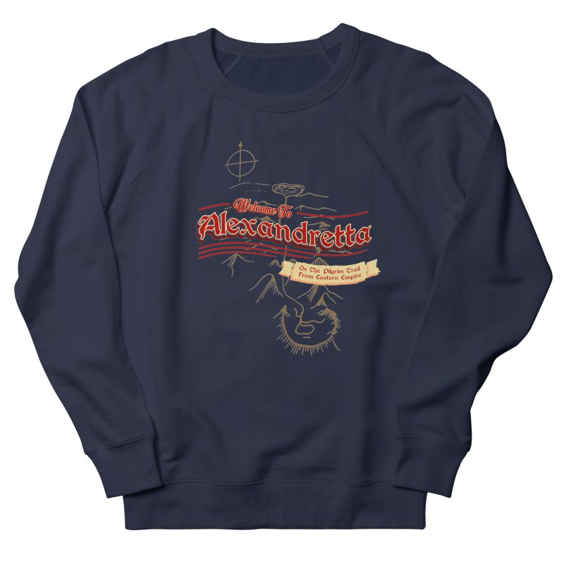 On The Pilgrim Trail From Eastern Empire Women's Sweatshirt by Evan Ayres