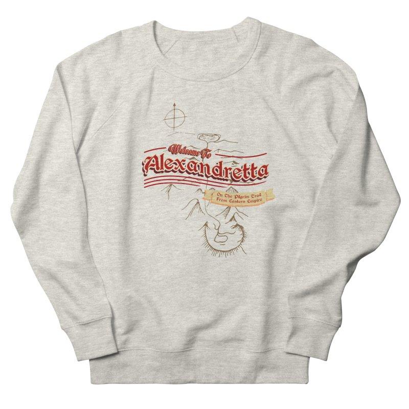 On The Pilgrim Trail From Eastern Empire Men's Sweatshirt by Evan Ayres