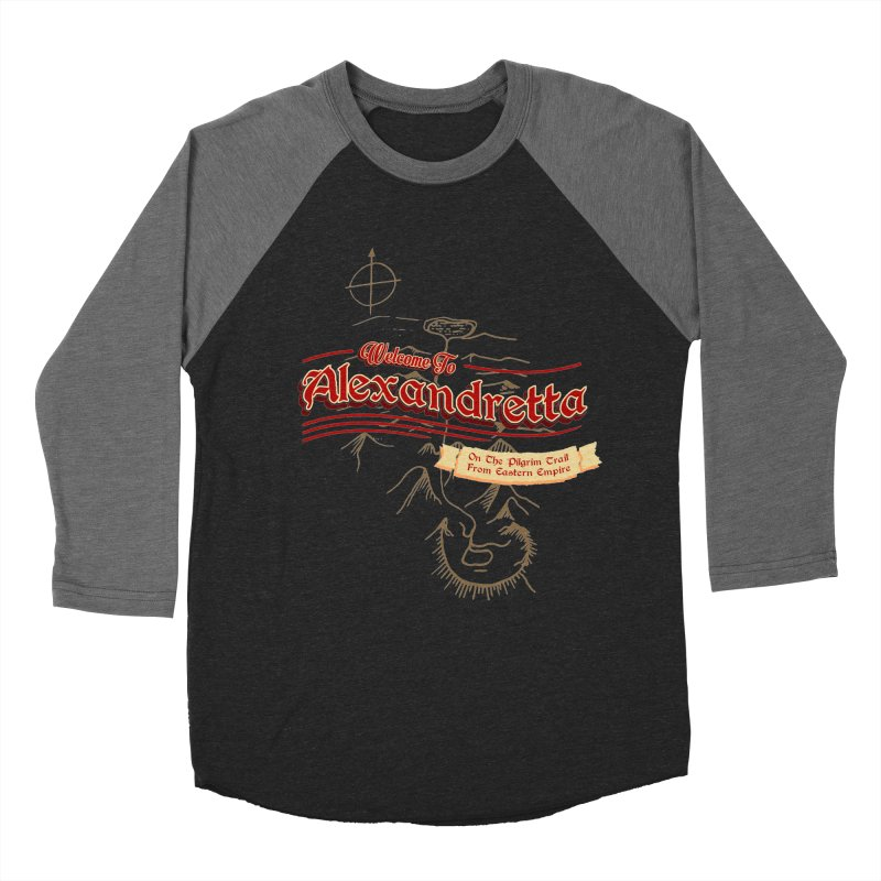 On The Pilgrim Trail From Eastern Empire Women's Baseball Triblend T-Shirt by Evan Ayres