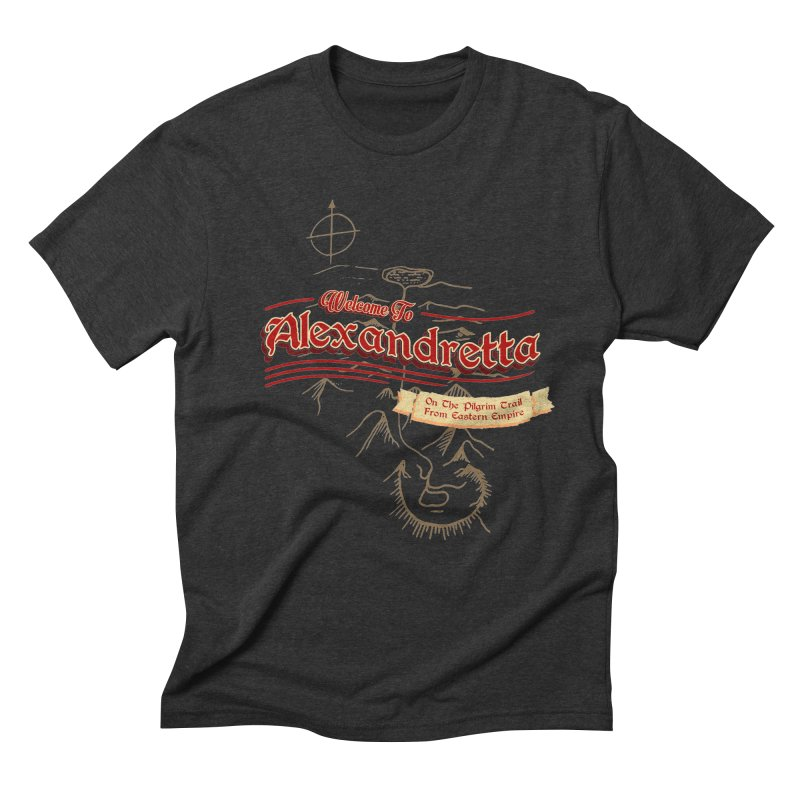On The Pilgrim Trail From Eastern Empire Men's Triblend T-shirt by Evan Ayres