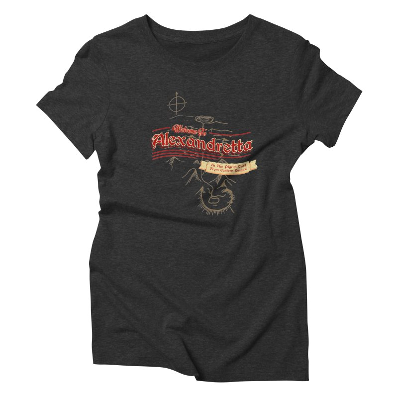On The Pilgrim Trail From Eastern Empire Women's Triblend T-shirt by Evan Ayres
