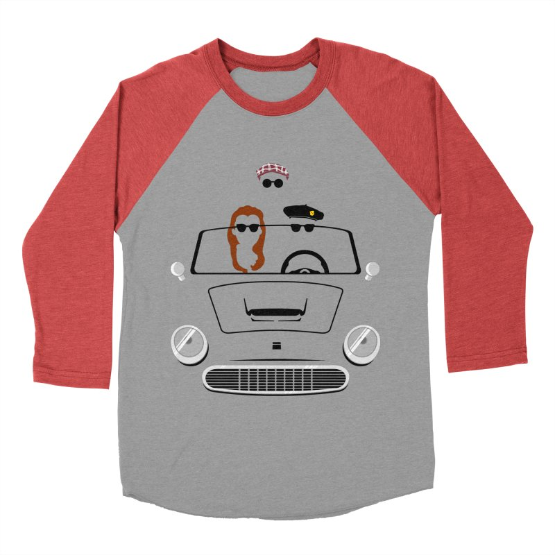 Abe Froman's Grand Day Out Men's Baseball Triblend T-Shirt by Evan Ayres