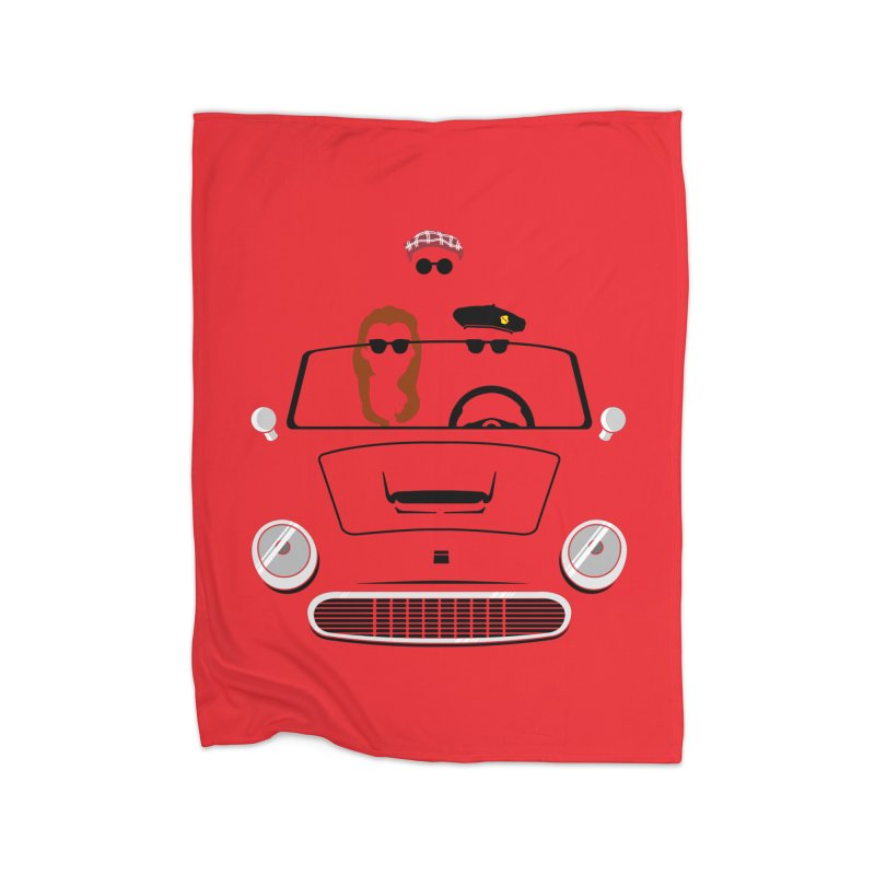 Abe Froman's Grand Day Out Home Blanket by Evan Ayres