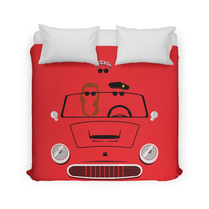 Abe Froman's Grand Day Out Home Duvet by Evan Ayres