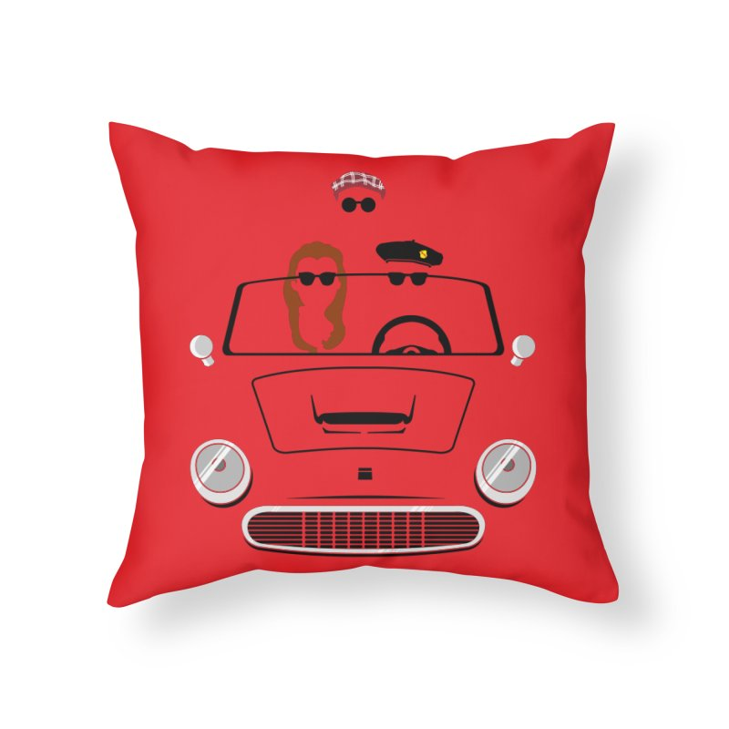 Abe Froman's Grand Day Out Home Throw Pillow by Evan Ayres