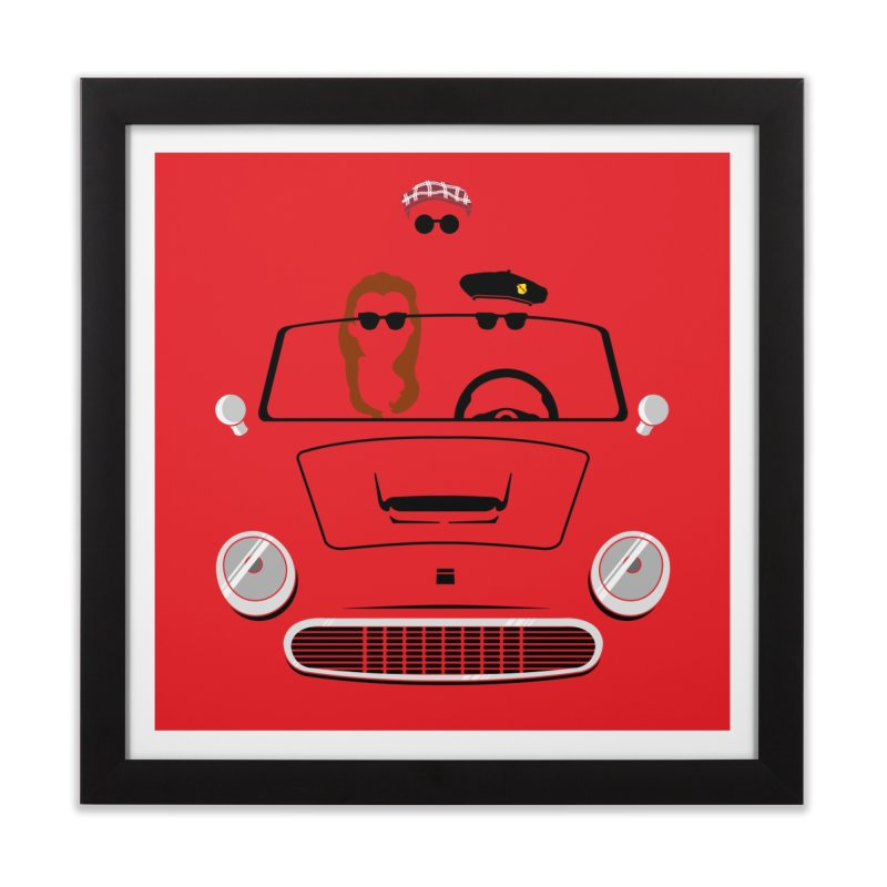 Abe Froman's Grand Day Out Home Framed Fine Art Print by Evan Ayres