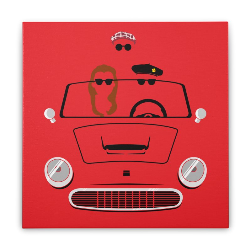 Abe Froman's Grand Day Out Home Stretched Canvas by Evan Ayres