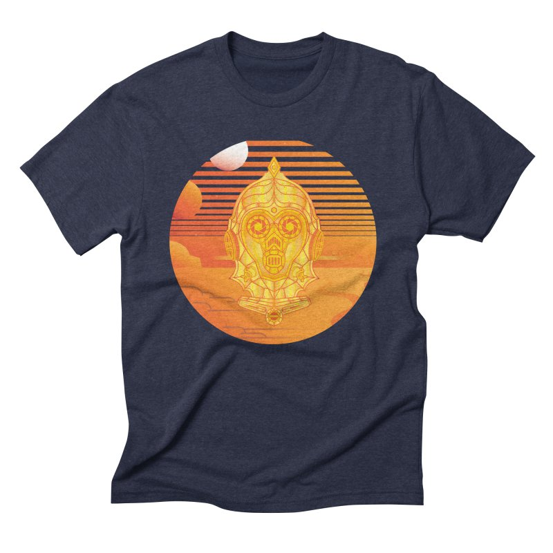 In A Galaxy Even Further Away... Men's Triblend T-shirt by Evan Ayres