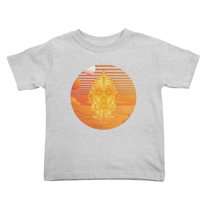 In A Galaxy Even Further Away... Kids Toddler T-Shirt by Evan Ayres