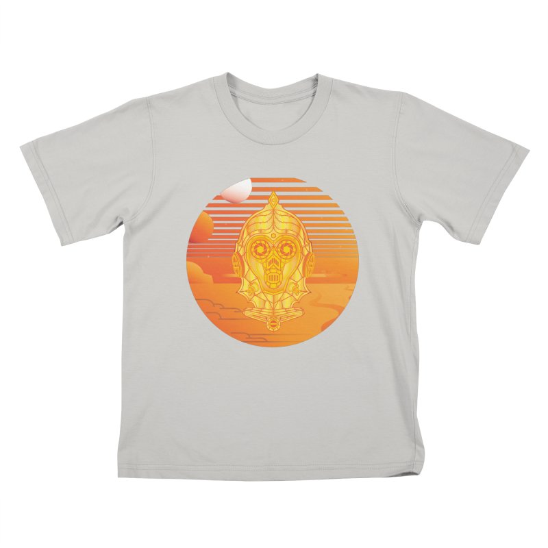 In A Galaxy Even Further Away... Kids T-shirt by Evan Ayres