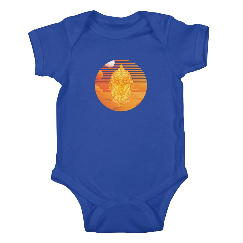 In A Galaxy Even Further Away... Kids Baby Bodysuit by Evan Ayres Design