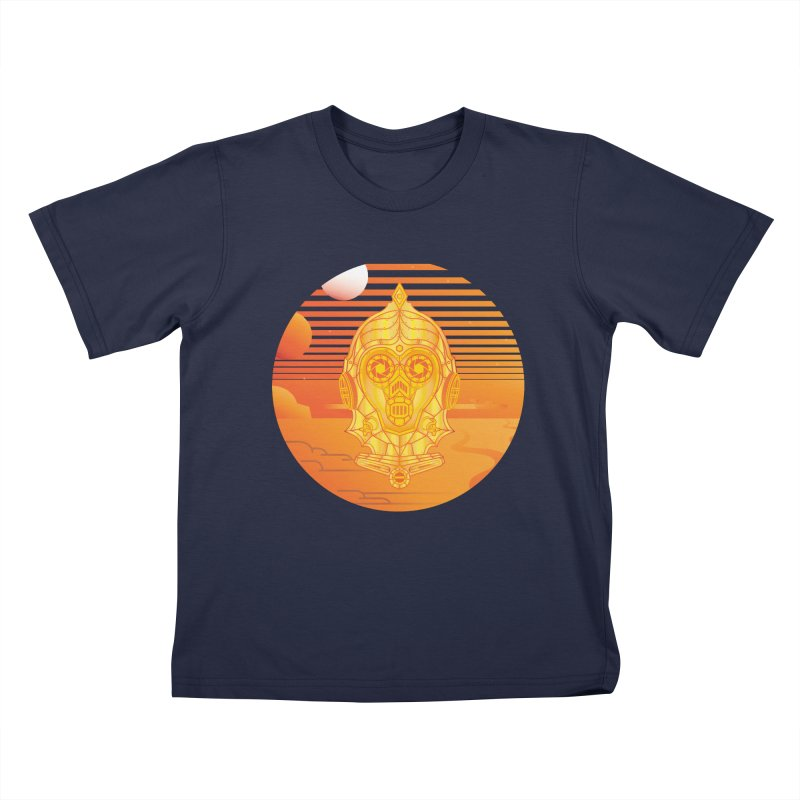 In A Galaxy Even Further Away... Kids T-Shirt by Evan Ayres Design
