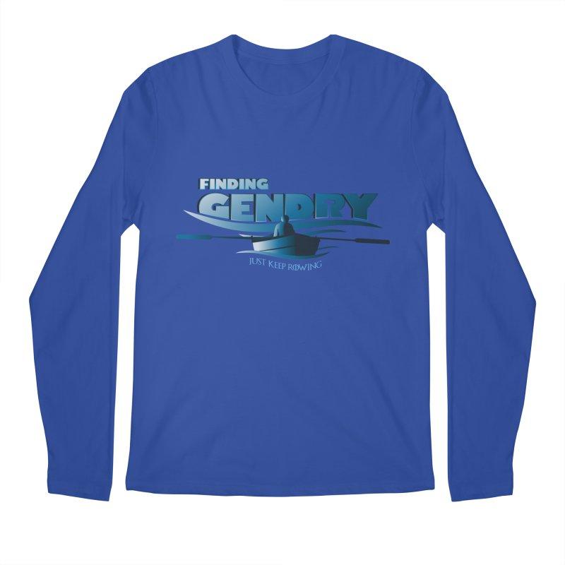 Just Keep Rowing Men's Longsleeve T-Shirt by Evan Ayres