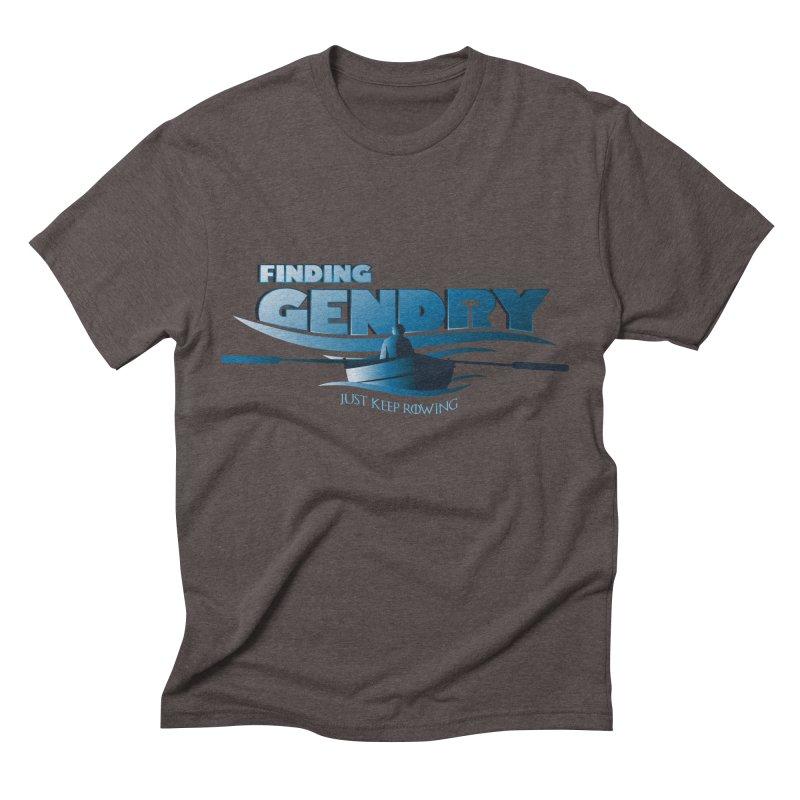Just Keep Rowing Men's Triblend T-shirt by Evan Ayres