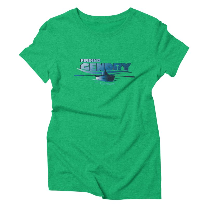 Just Keep Rowing Women's Triblend T-shirt by Evan Ayres