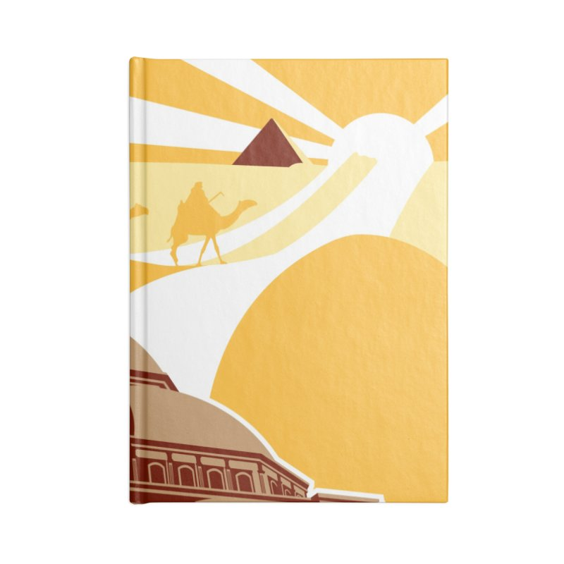 Travel To Cairo Accessories Notebook by Evan Ayres