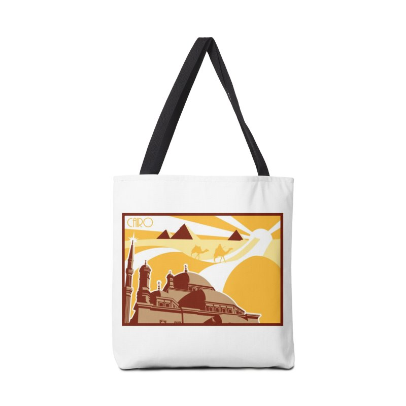 Travel To Cairo Accessories Bag by Evan Ayres