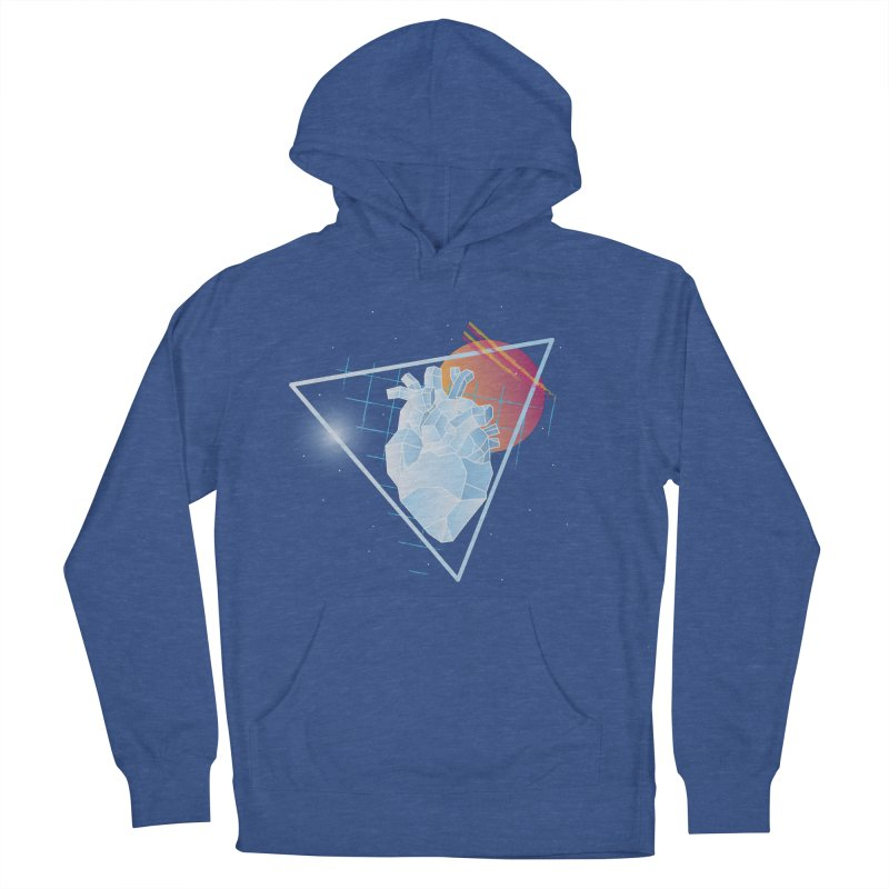 Heart Of Glass Men's Pullover Hoody by Evan Ayres