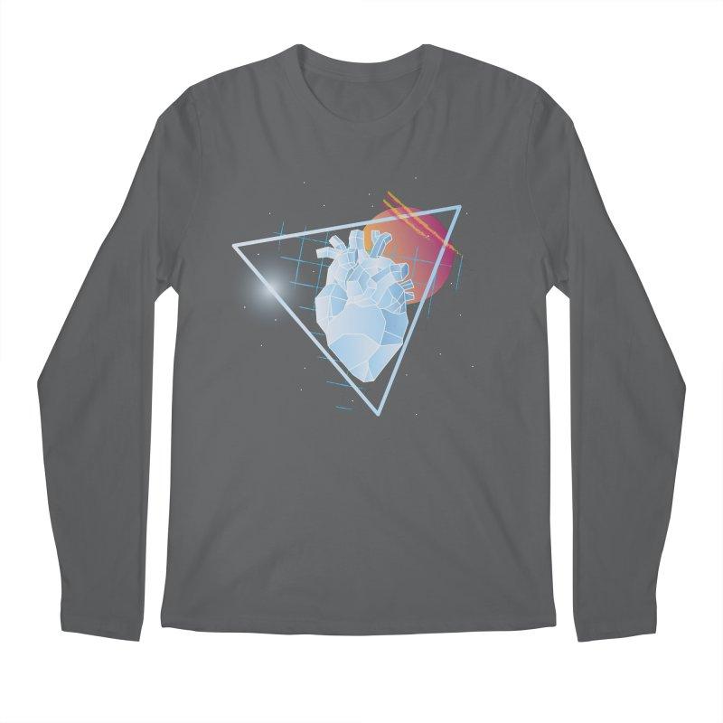 Heart Of Glass Men's Longsleeve T-Shirt by Evan Ayres