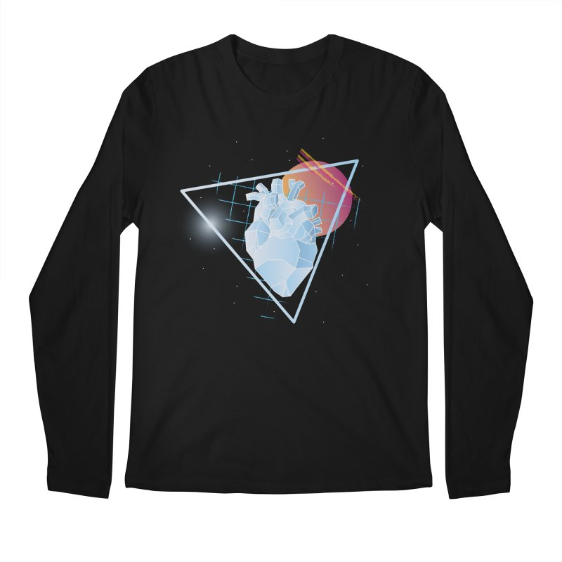 Heart Of Glass Men's Longsleeve T-Shirt by Evan Ayres