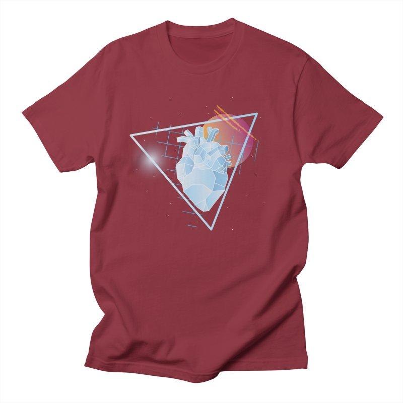 Heart Of Glass Men's T-shirt by Evan Ayres