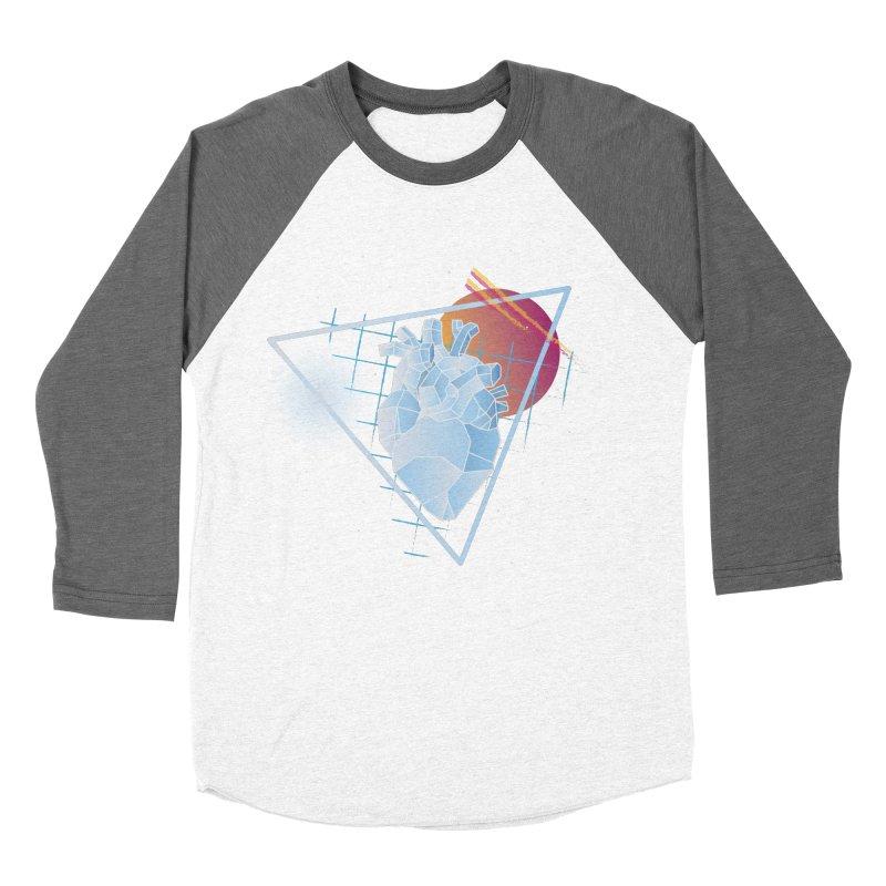 Heart Of Glass Men's Baseball Triblend T-Shirt by Evan Ayres