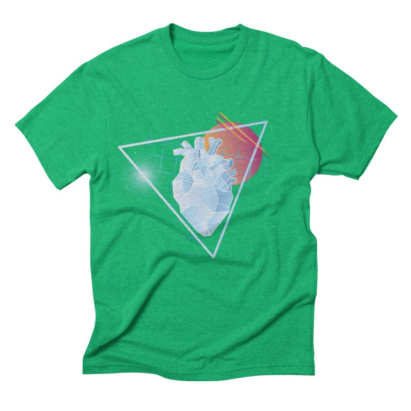 Heart Of Glass Men's Triblend T-shirt by Evan Ayres