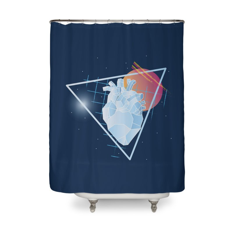 Heart Of Glass Home Shower Curtain by Evan Ayres Design