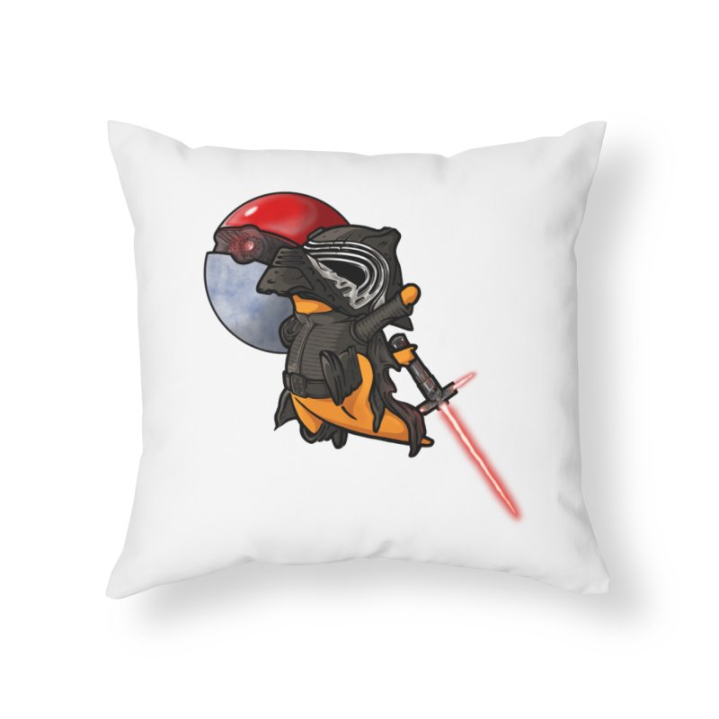 Cubo Ren Home Throw Pillow by Evan Ayres Design