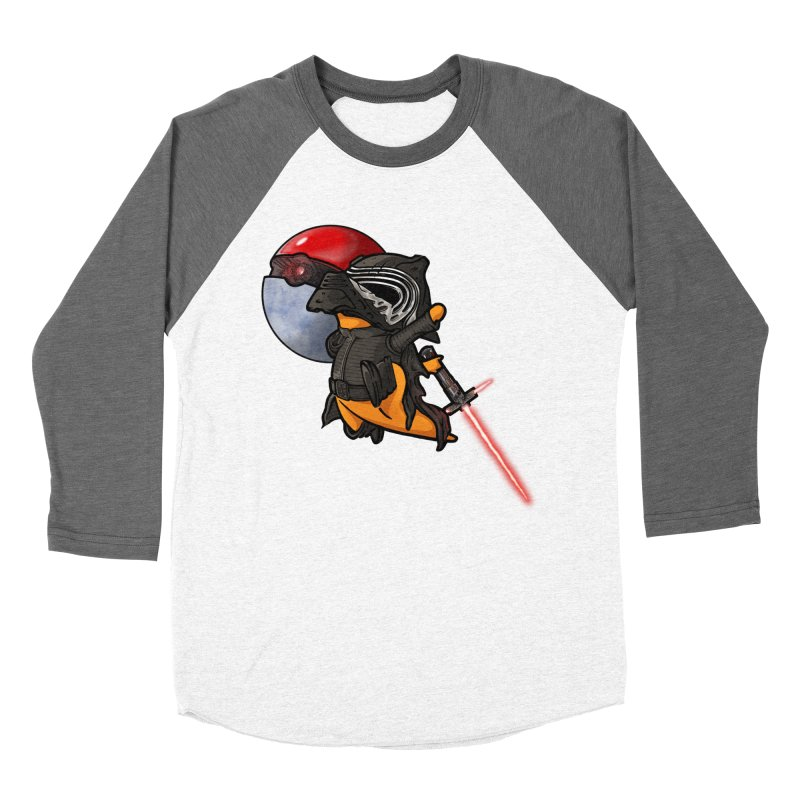 Cubo Ren Men's Baseball Triblend Longsleeve T-Shirt by Evan Ayres Design