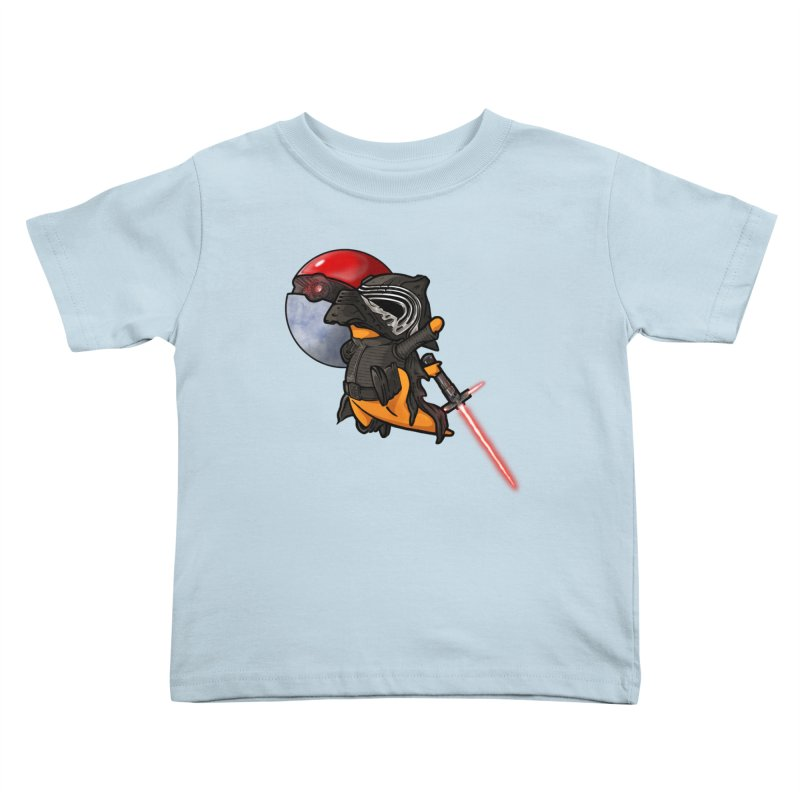 Cubo Ren Kids Toddler T-Shirt by Evan Ayres Design