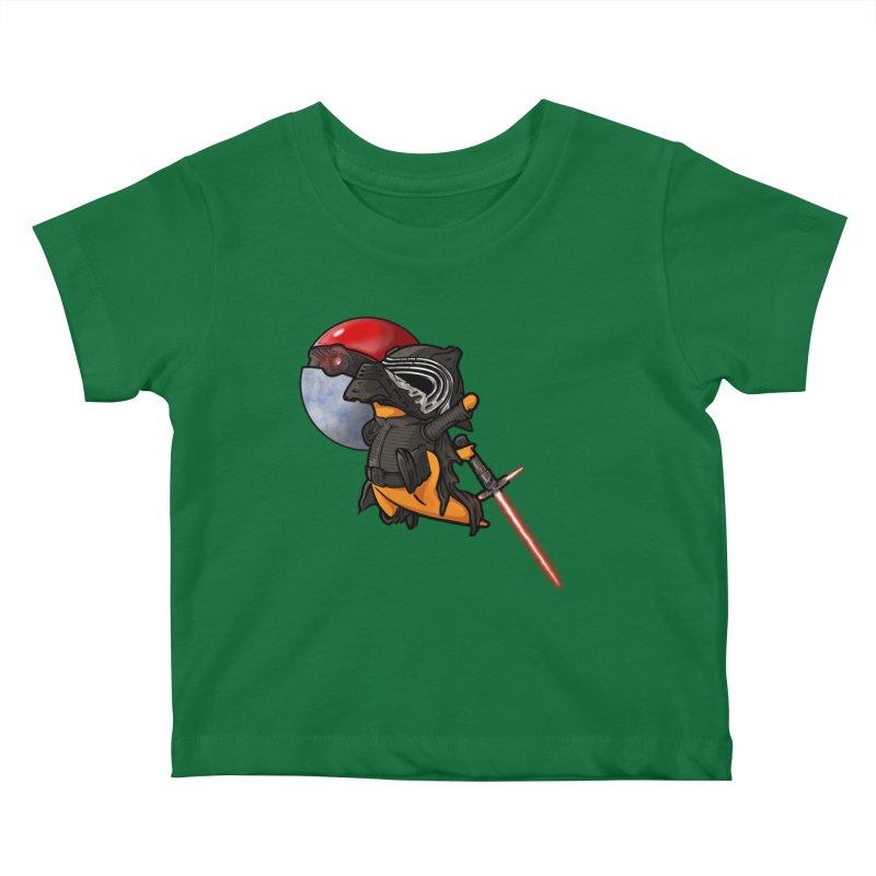 Cubo Ren Kids Baby T-Shirt by Evan Ayres Design