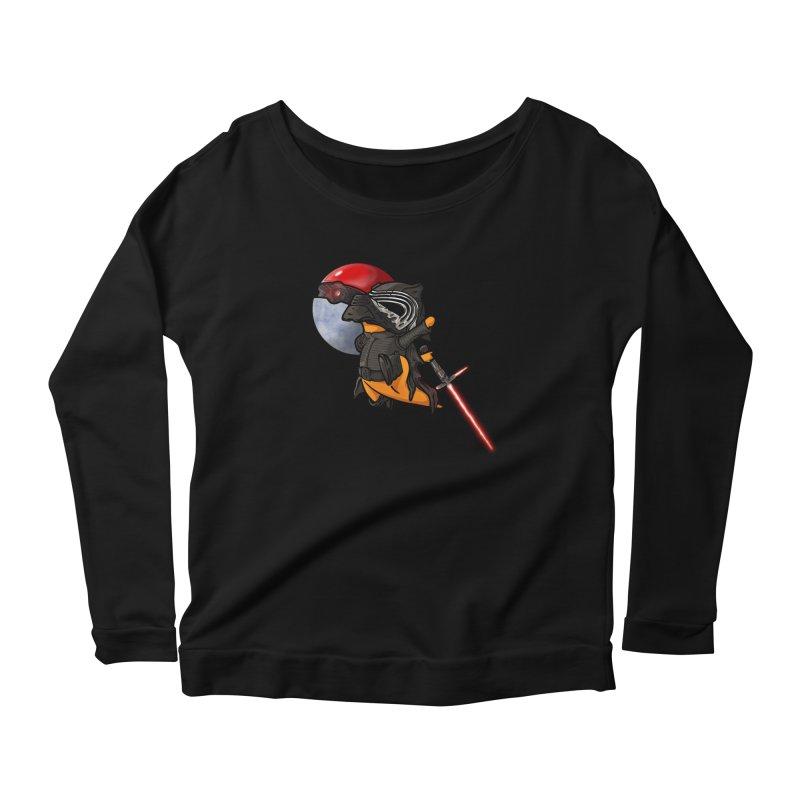 Cubo Ren Women's Scoop Neck Longsleeve T-Shirt by Evan Ayres Design