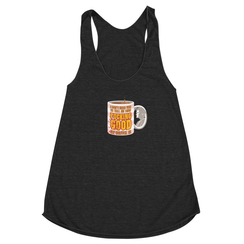 I'm The One Who Buys It Women's Racerback Triblend Tank by Evan Ayres