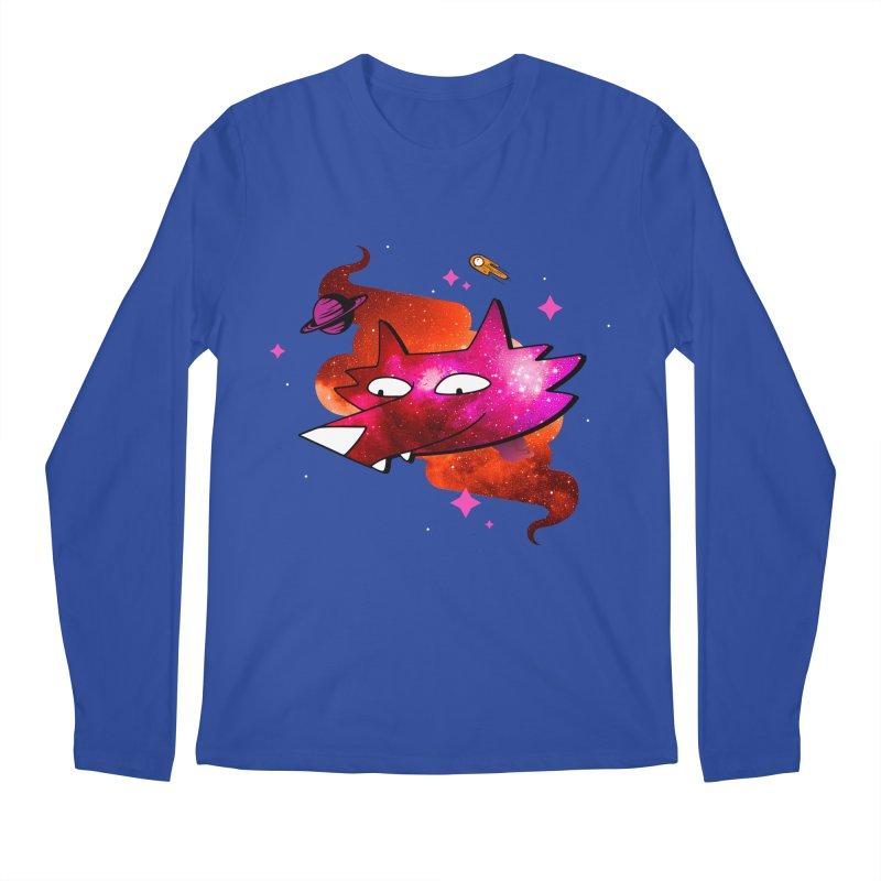 Space Coyote?... Men's Longsleeve T-Shirt by Evan Ayres