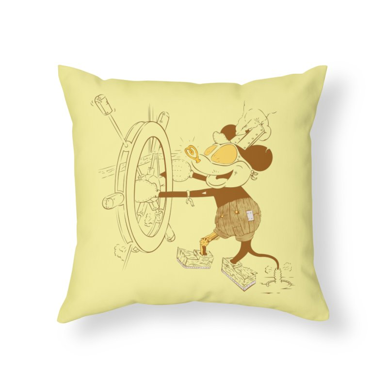 Steampunk Willie Home Throw Pillow by Evan Ayres