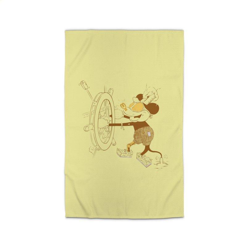 Steampunk Willie Home Rug by Evan Ayres