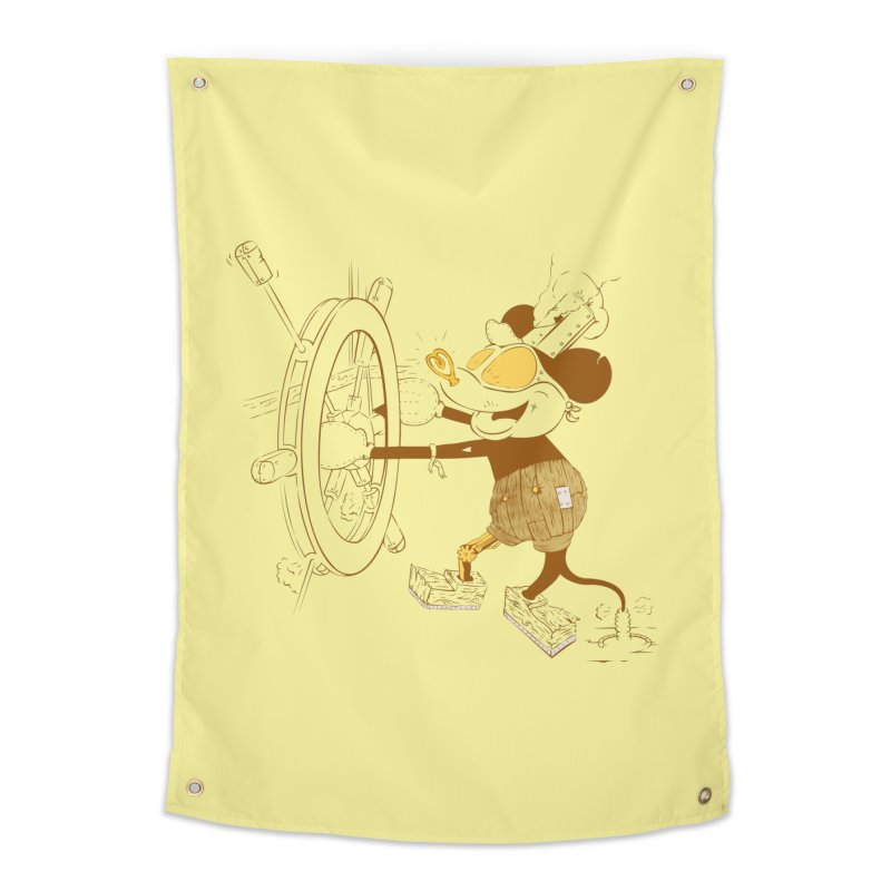 Steampunk Willie Home Tapestry by Evan Ayres