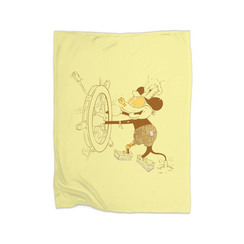Steampunk Willie Home Blanket by Evan Ayres
