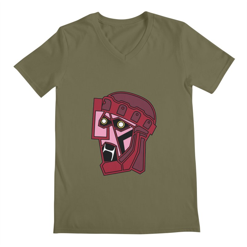 KILL ALL MUTANTS Men's V-Neck by Evan Ayres