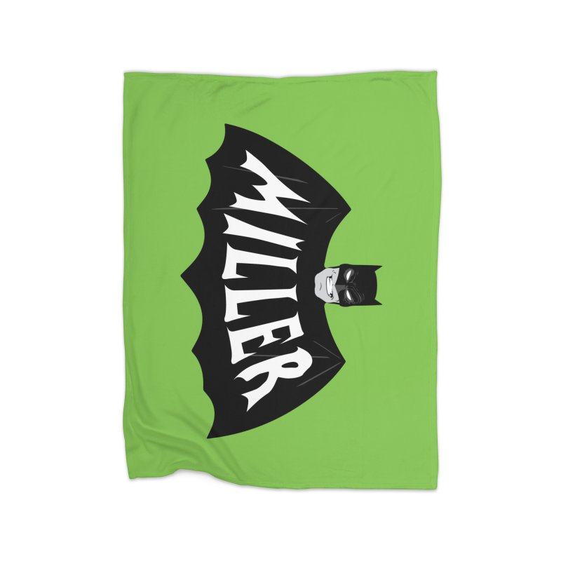 MILLER Home Fleece Blanket Blanket by Evan Ayres Design
