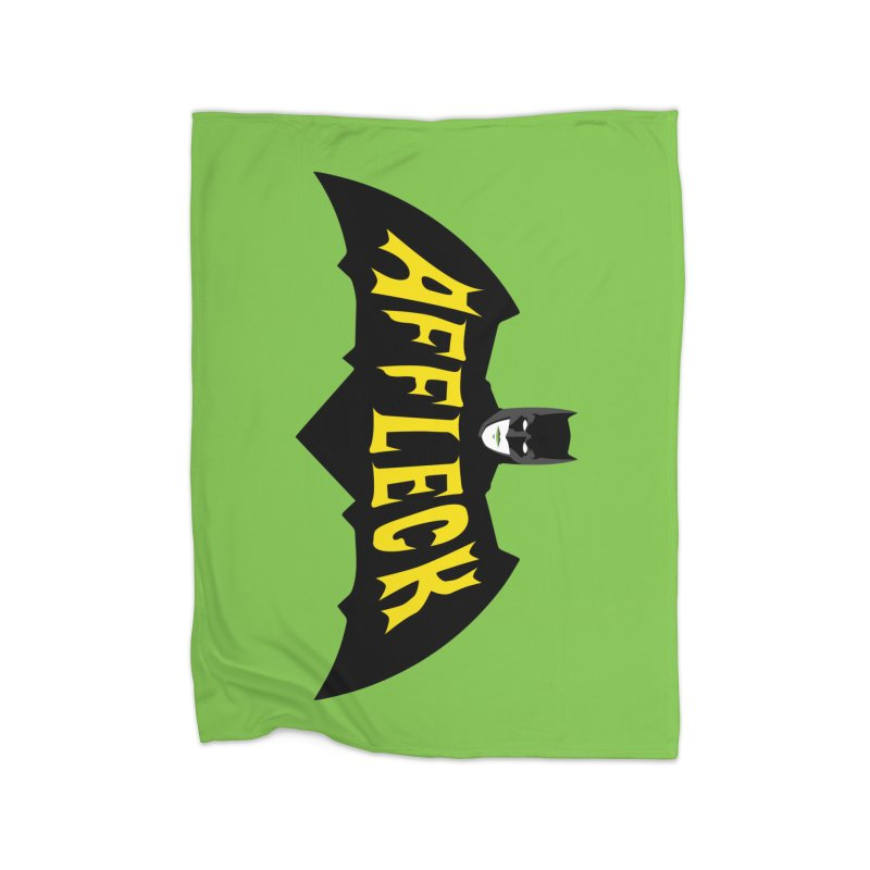 AFFLECK Home Fleece Blanket Blanket by Evan Ayres Design
